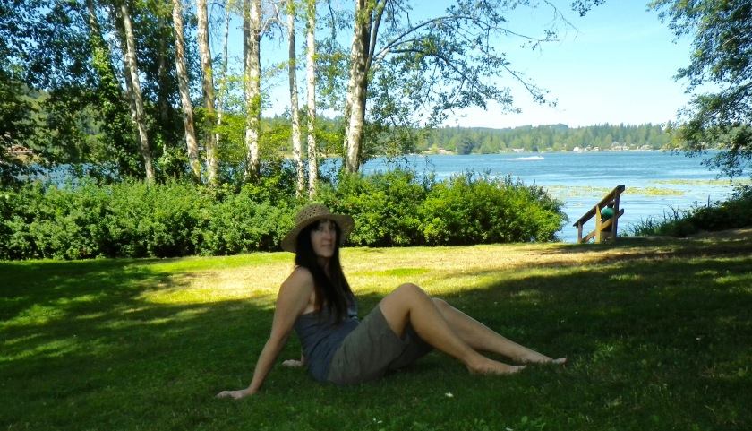 Steph at Kitsap Lake